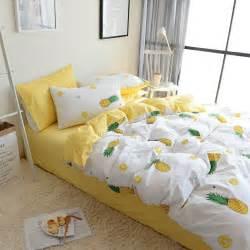 100 Cotton Duvet Cover Sets Pineapple Bedding Set 100 Cotton Duvet Cover With Pillow