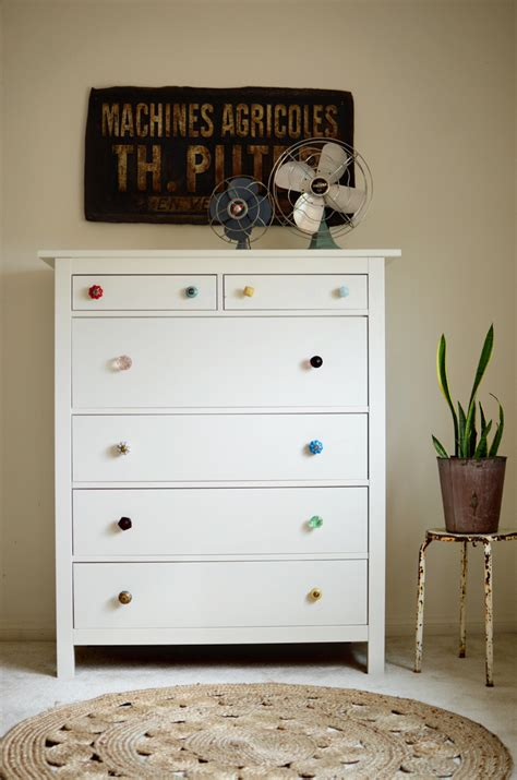 Small Bedroom Ideas Ikea try this mismatched dresser knobs a beautiful mess