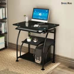 Home Office Workstation Desk Home Office Pc Corner Computer Desk Laptop Table Workstation Furniture Black Ebay