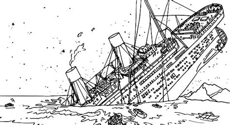 titanic underwater coloring pages titanic pictures sinking color pictures to pin on