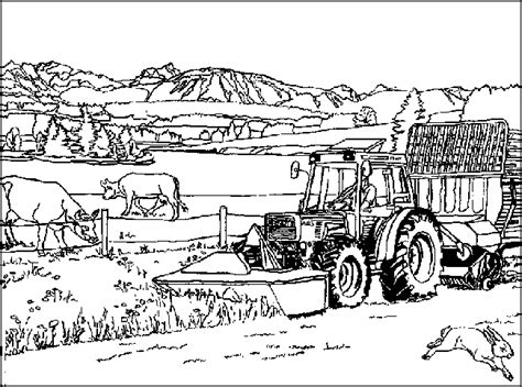 farm coloring pages coloringpages1001 com