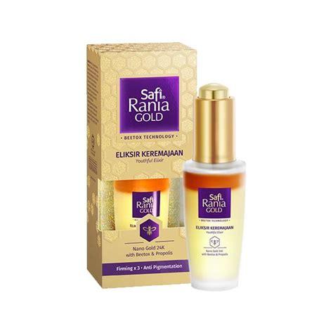 Scrub Safi Rania Gold safi youthful elixir