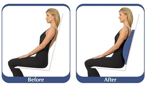Lumbar support pillow chairs belt and accessories