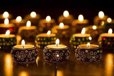 candle light decoration at home light up your home with creative candles for this diwali