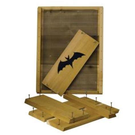 bat house kit stovall products single cell bat house kit sp3k the home depot