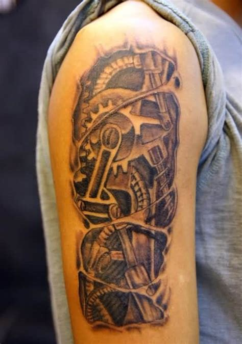 gear tattoos designs ideas and meaning tattoos for you