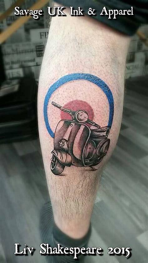 awesome lambretta tattoo from savageinkuk ink inked
