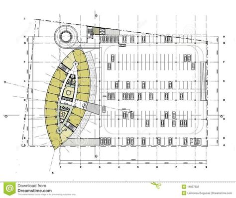 vehicle floor plan car parking plan with dimensions plan with the car parking