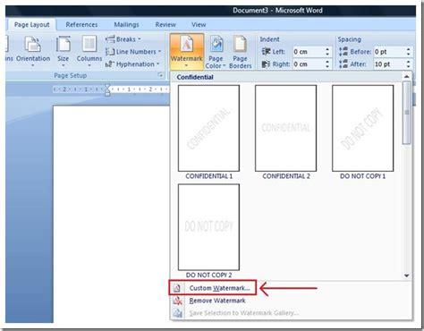 watermark in word 2010 add watermarks in microsoft word tutorial