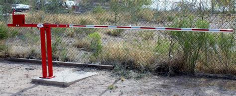 swing arm gates barrier arms swing gates