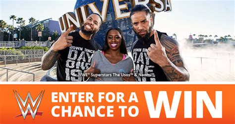 Universal Sweepstakes - wwe universal orlando rev up your vacation sweepstakes 2018 wwe com universalsweeps