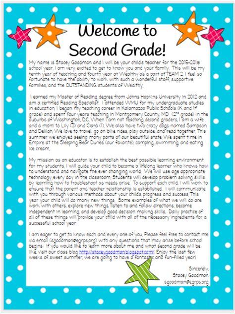 Parent Welcome Letter 2nd Grade Back To School Parent Letter Kindergarten Sle Customer Service Resume