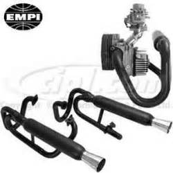 Buggy Exhaust Systems For Sale C13 3373 Empi Buggy Black Dual Exhaust W Clearance