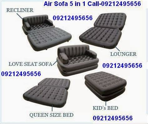 new air sofa 5 in 1 high quality branded as seen on tv cal 09212495656