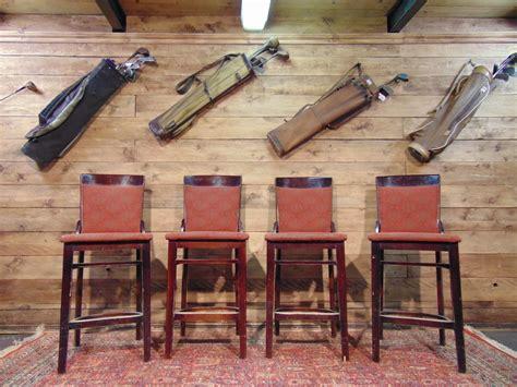sgabelli in legno per pub sgabelli da pub in legno e tessuto