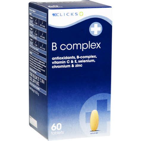 C Combo 60 Tablet Treelains clicks b complex 60 tablets clicks