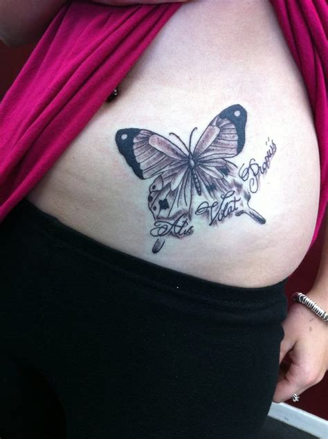 butterfly tattoo on hip butterfly hip creativefan