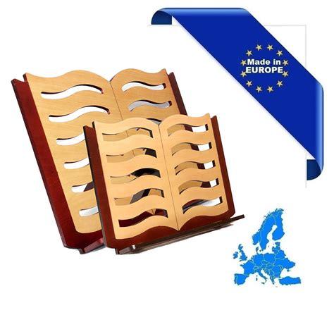 leggio in legno da tavolo leggio in legno da tavolo small book made in europe in