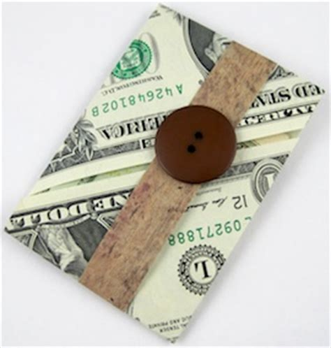 Origami Money Holder - george washington dollar bill origami ohsay usa