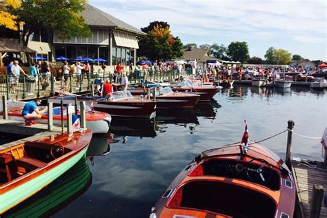 boat show fontana wi the 2017 geneva lakes boat show acbs antique boats