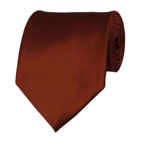 solid color neckties cinnamon neckties solid color ties stanard size