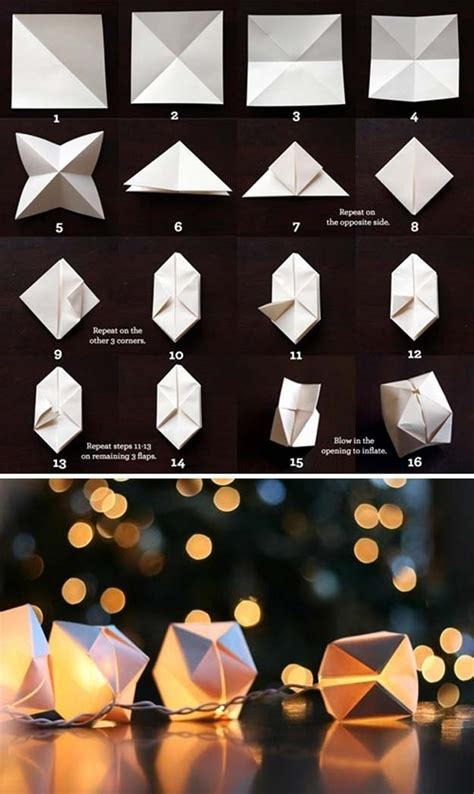 Diy Lantern Lights 40 Cool Diy Ideas With String Lights Diy Projects For