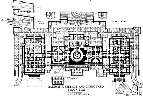 floor plan of the us capitol building file us capitol basement floor plan 1997 105th congress