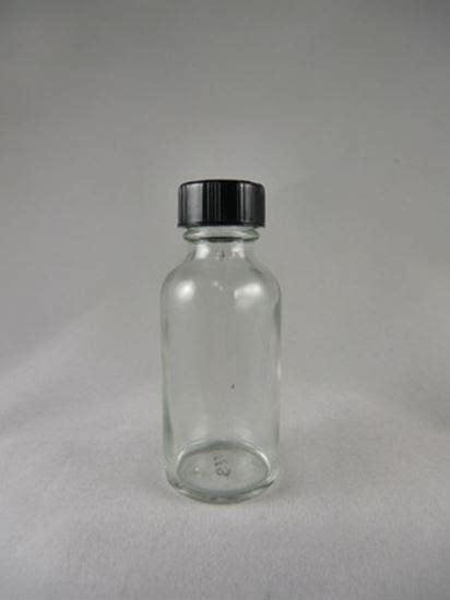 1 ounce bottle 1 ounce glass bottle