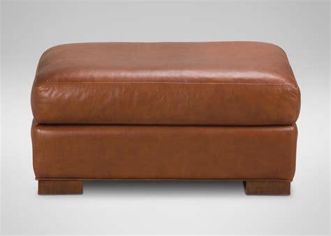 hudson ottoman hudson leather ottoman ottomans benches
