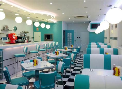 imagenes retro para restaurante restaurante retro 50 s american diner aranjuez