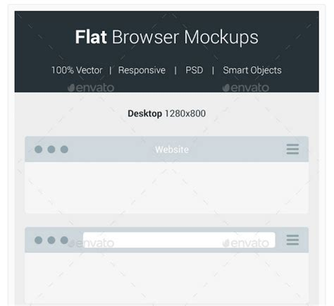 flat design browser mockup top 29 web browser mockups in psd and ai in 2018 colorlib