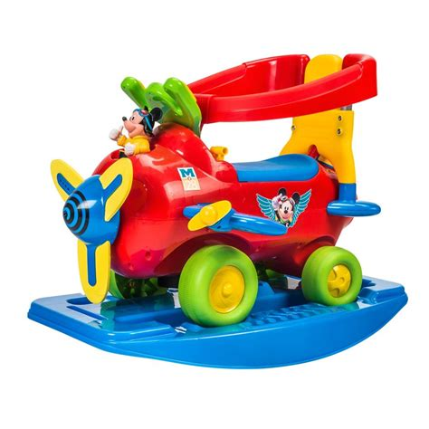 Light And Sound Dusty Planes Activity Ride On Code T Rd049825 mickey plane activity ride on 1 3yrs rocker or ride on with removable handle realistic plane