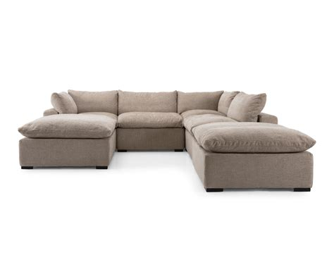 Decorium Sectional Sofa Refil Sofa