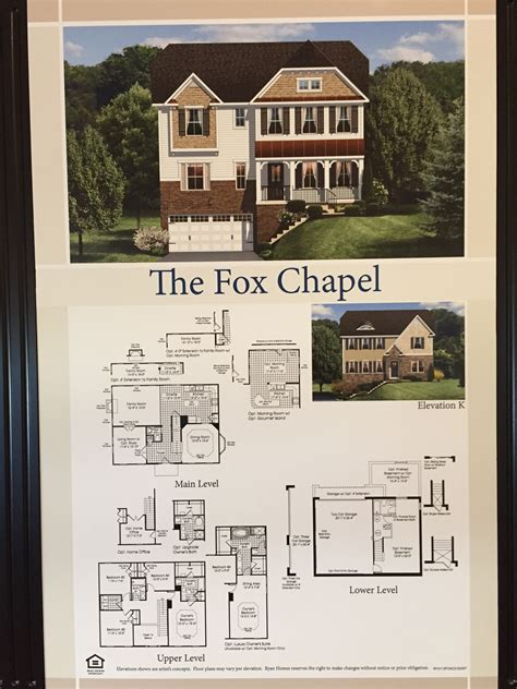 chapel floor plans and elevations southgate single family homes in stafford county