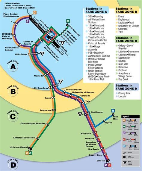 light rail times denver denver light rail map mapsof maps trains