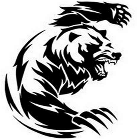 tribal grizzly bear tattoos tribal designs 24 designs