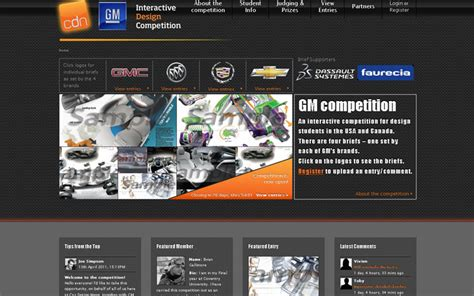 design contest website gm design launches car design contest for students