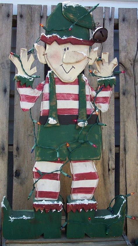 patterns  wooden christmas lawn decorations