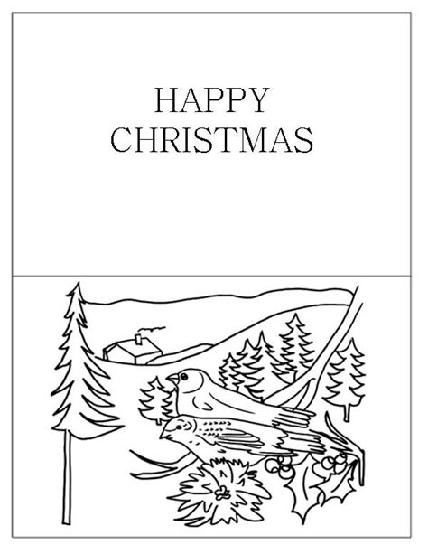 coloring pages holiday cards 17 best images about christmas cards coloring page on