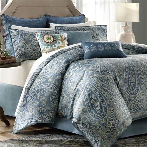 blue bedspreads and comforters blue and green bedding