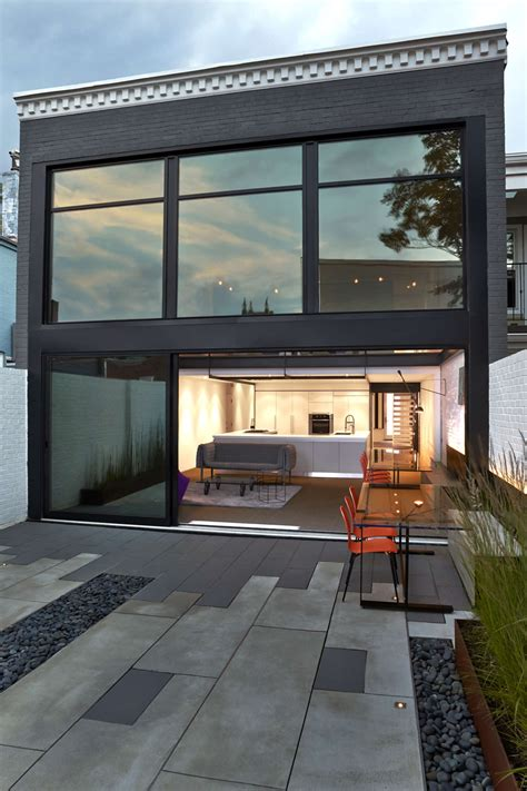 modern row house a modern row house for a fun couple with a love of cooking