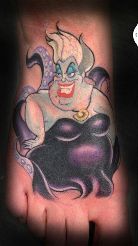 ursula tattoo 25 best vil 245 es da disney images on disney