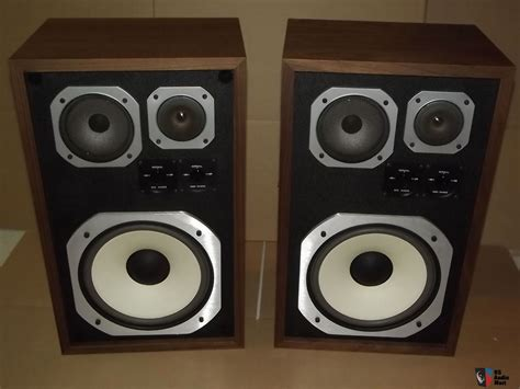 Vintage American Acoustics D3550e Box Pair Of American Acoustics Labs Aal Classic Series 110 Speakers New In Box Photo 1060559 Us