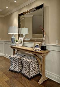 Entry Way Furniture Ideas by He Wall Paint Color Is Sherwin Williams 6142 Macadamia And