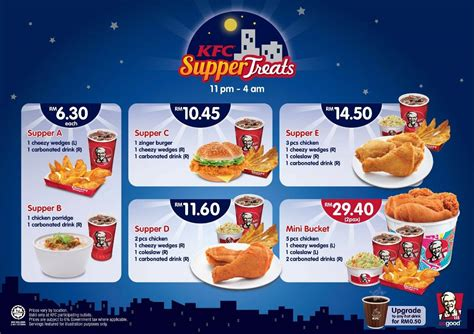 Promo Selama Ramadhan Fendi Mahattan Set 2 In 1 3282 kfc supper treats 11pm 4am malaysia food promotion portal