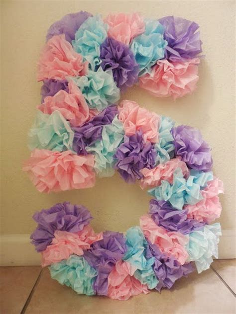 Creative Crafts With Paper - 25 best ideas about birthday numbers on paw