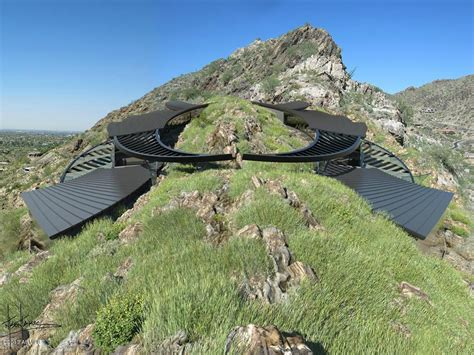 Oceanfront House Plans by Futuristic Luxury Home Atop Mummy Mountain In Paradise