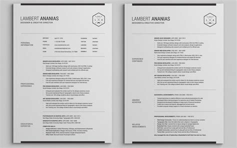 2 page resume template two page resume creddle blog two page