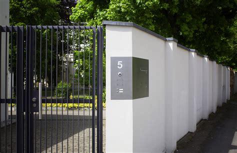 Briefkasten Einbau Mauer by Mauerdurchwurf Anlagen Max Knobloch Nachf Gmbh
