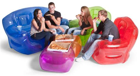 blow up couches inflatable furniture budget friendly strength style